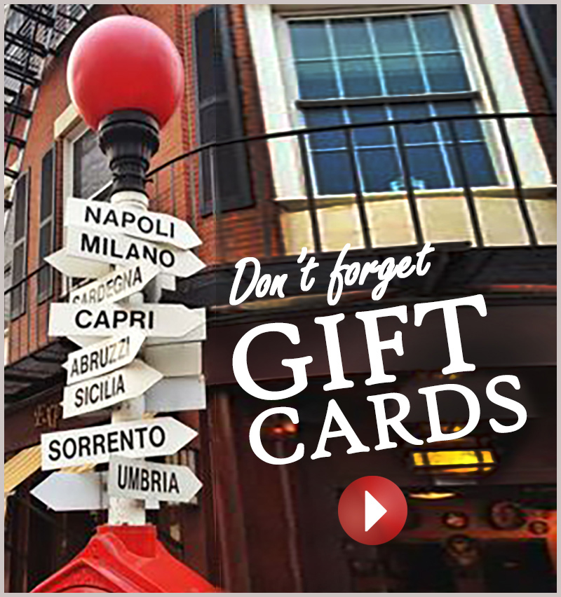 Assaggio gift cards
