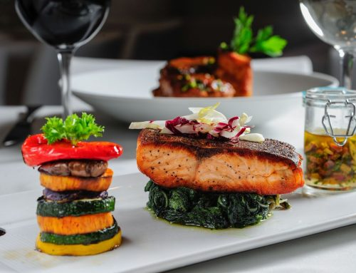 Boston's Best Roasted Salmon